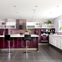 armarios coloridos para cozinhas 3