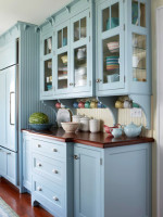 armarios coloridos para cozinhas 4