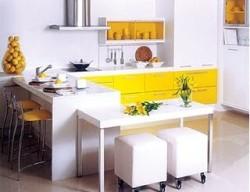 armarios coloridos para cozinhas 5