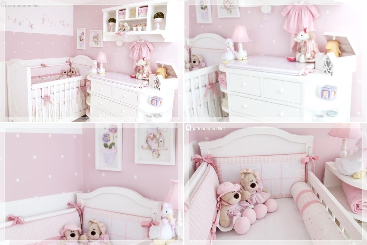 Dicas de decoração para quarto de bebê menina  Revista das dicasRevista das