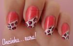 unhas decoradas cor de rosa 1