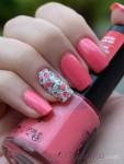 unhas decoradas cor de rosa 3