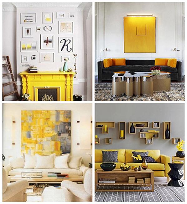 decoracao de sala azul turquesa e amarelo : decoracao de sala azul turquesa e amarelo:decoração em amarelo na moda, decore casa ou apartamento – Revista